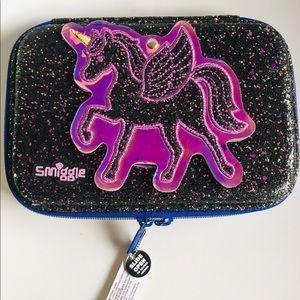 SMIGGLES  Hard Top Unicorn Sparkle Pencil Case